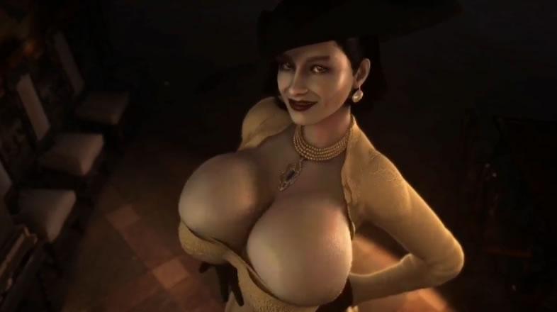 Alcina Dimitrescu do novo Resident Evil
